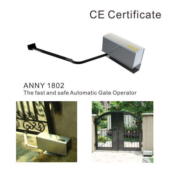 Gate Opener Door Operator Garage Door Opener Anny1802 (NO limited times, 30deg/sec, no fear push)