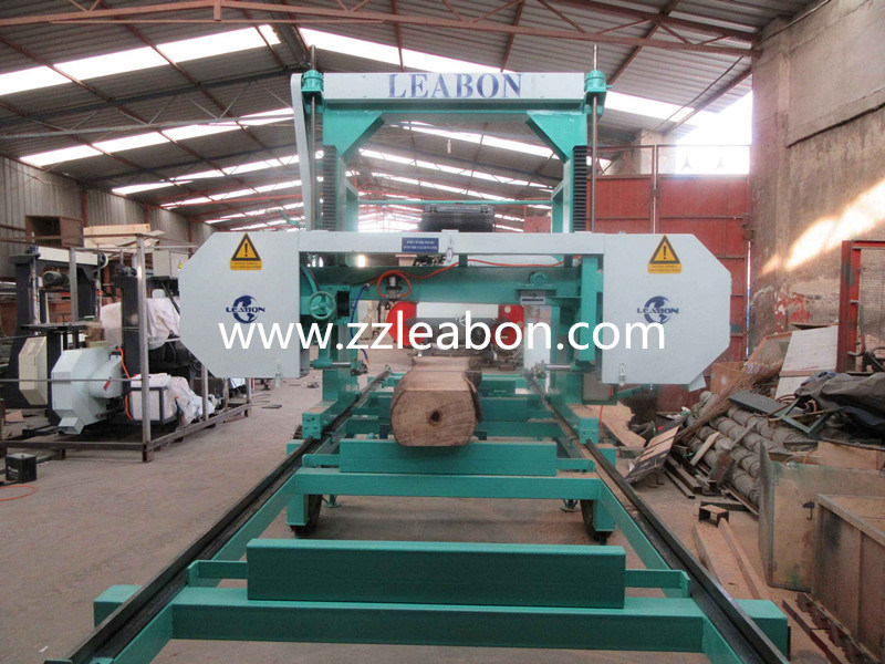 Horizontal Portable Sawmill Woodworking Machinery
