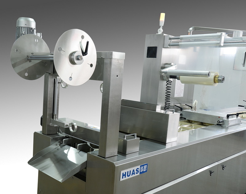 Meat Thermoforming Vacuum Skin Packaging Machine