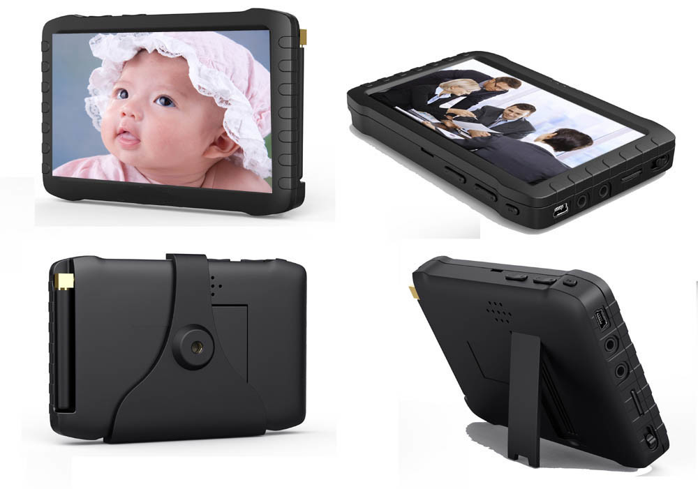 8 Channel Combo DVR with 5 Inch All in One Standalone LCD Monitor