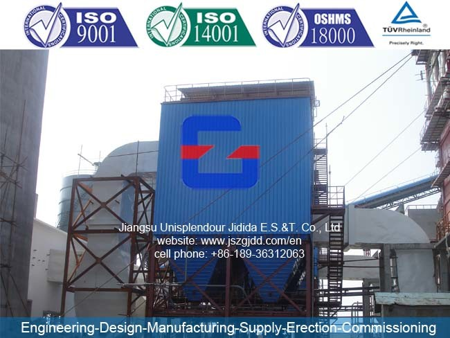 Jdw-128 (ESP) Industrial Electrostatic Precipitator for 75 MW Thermal Power Plant