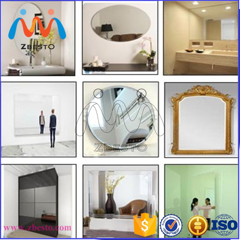 Waterproof Mirror, Copper Lead Free Furniture Mirror, Silver Aluminium Floor Dressing Decorative Mirrors