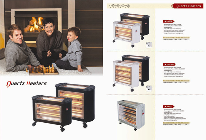 Quartz Heater 5, 000 Hours Lifespan Infrared Heater in Winter