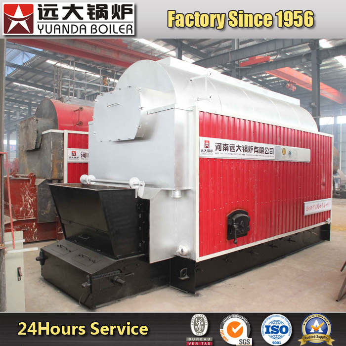 Factory Price Dzl Automatic Chain Grate Coal Fired Hot Water Boiler