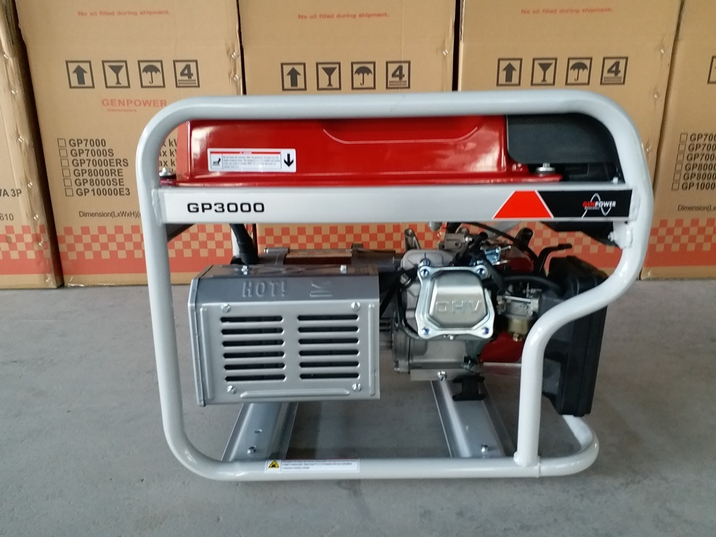 New Design 3kVA Gasoline Generator (GP3000)