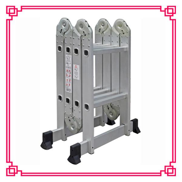 Multi-Purpose Folding Ladder/Stairway Extension Ladder