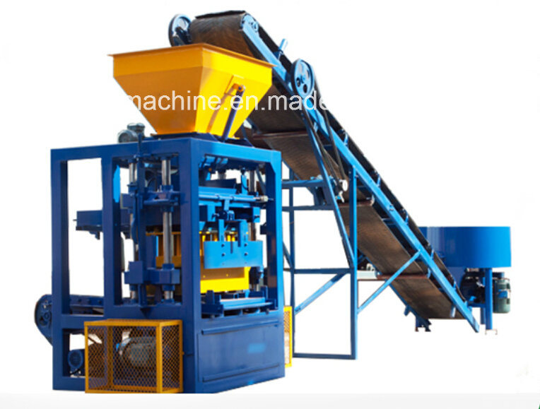 Qt4-24 Concrete Block Making Machines Nairobi Kenya