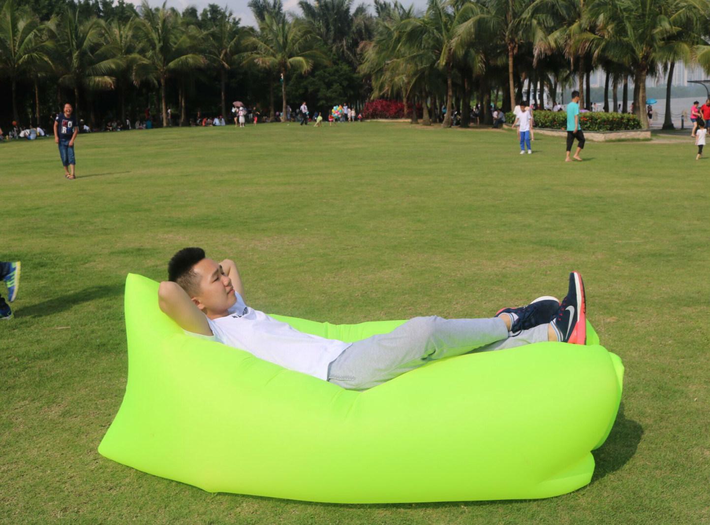Lamzac Hangout Lounge Bag/Foldable Lazy Bag Sofa/Inflatable Sleeping Sofa