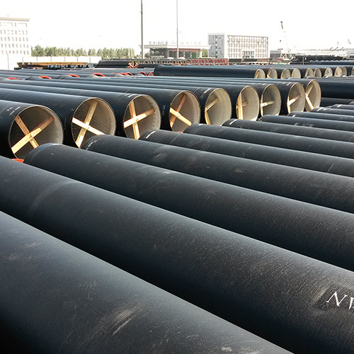 Centrifugal ISO2531 450mm Class K9 Cement Lined Ductile Cast Iron Pipe