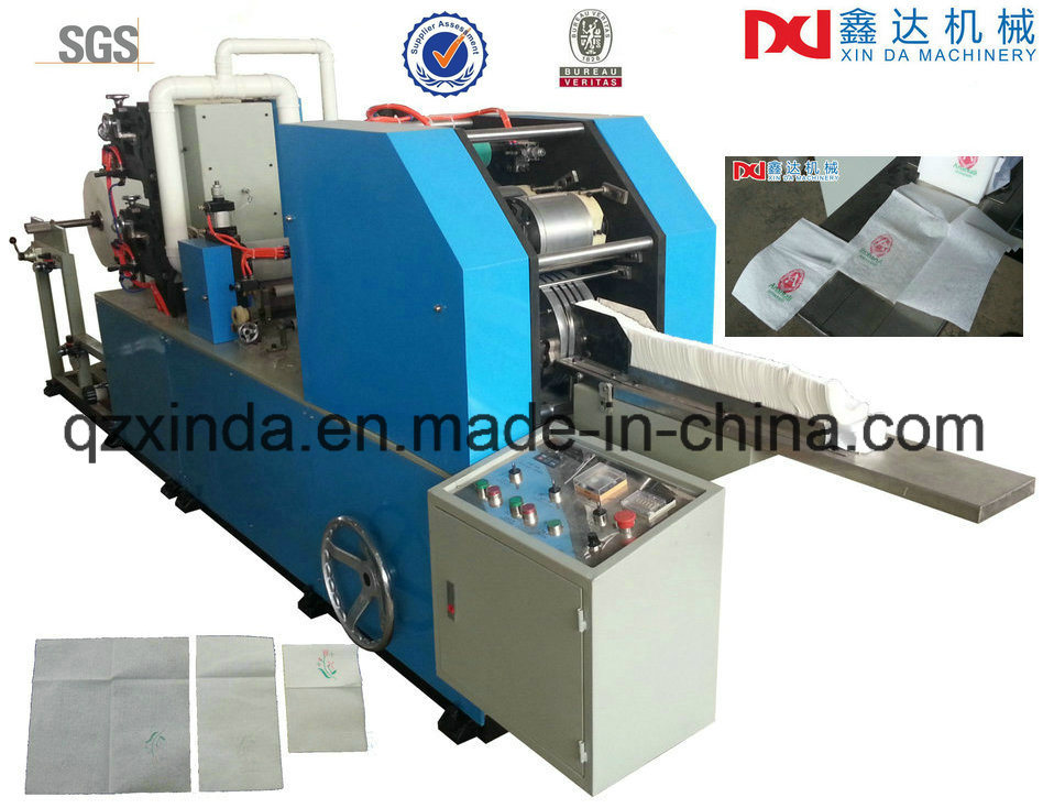Disposable Paper Napkin Folding Making Machine