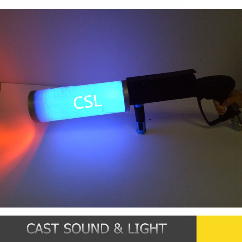 New DJ Color Changing RGBW LED CO2 Jet Gun