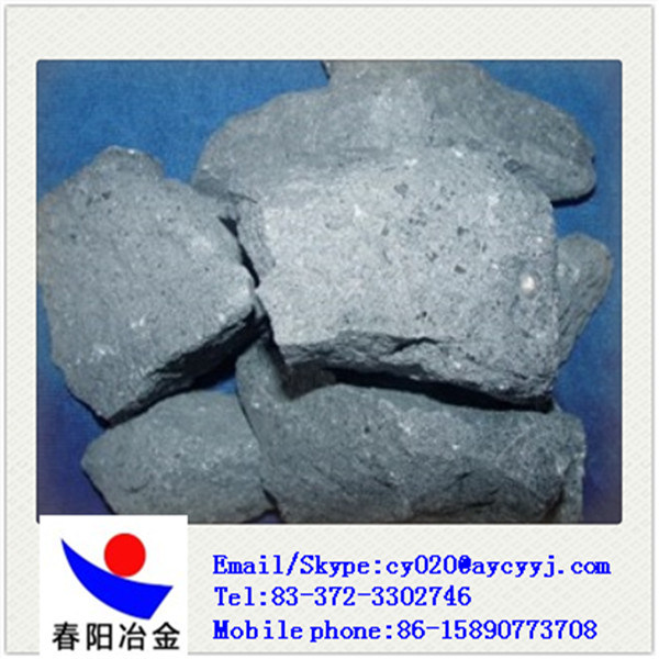 Ferro Silicon Aluminum Barium Calcium / Sialbaca Made in China