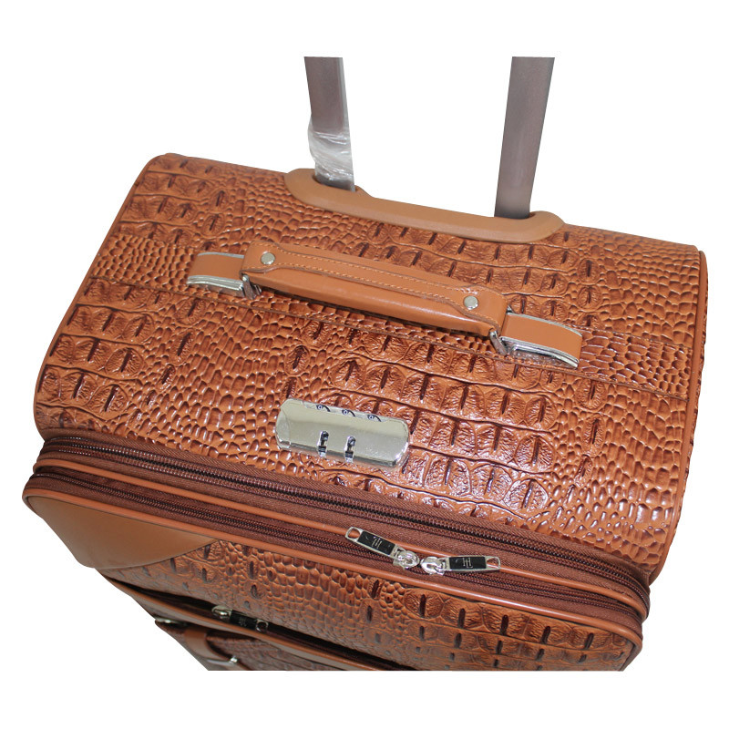 High Quality PU Leather Bags Luggage 1jb002