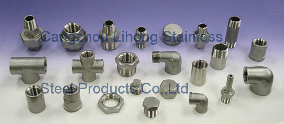 "1/4"" Stainless Steel 316L DIN2999 Barrel Nipple From Pipe"