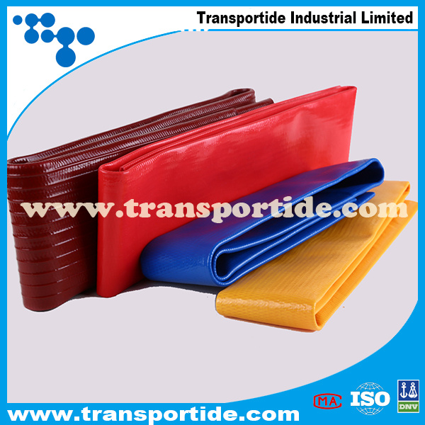 High Quatity Colorful Transportide PVC Layflat Hose