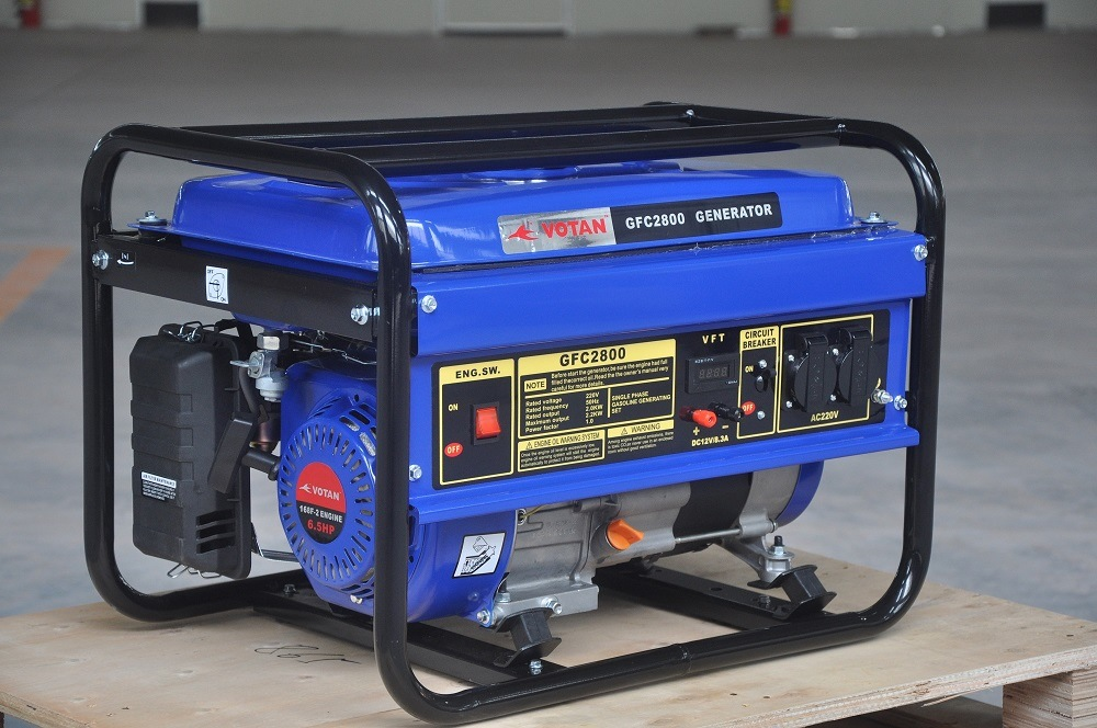 Gasoline Generator 2kw, 6.5HP Engine