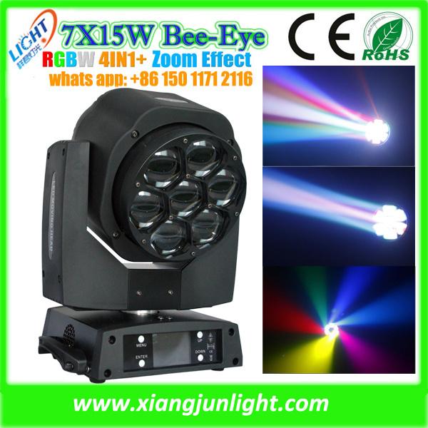 New Mini Bee Eye LED Moving Head RGBW 4 in 1