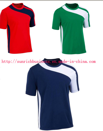 Unisex Jersey Soccer Sports T Shirt (Y6)