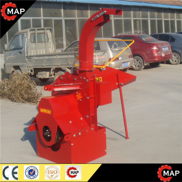 Tractor Implement Wood Chipper Shredder Wc-8