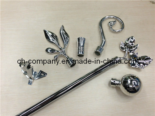 Chrome Plated Curtain Rod (6003)
