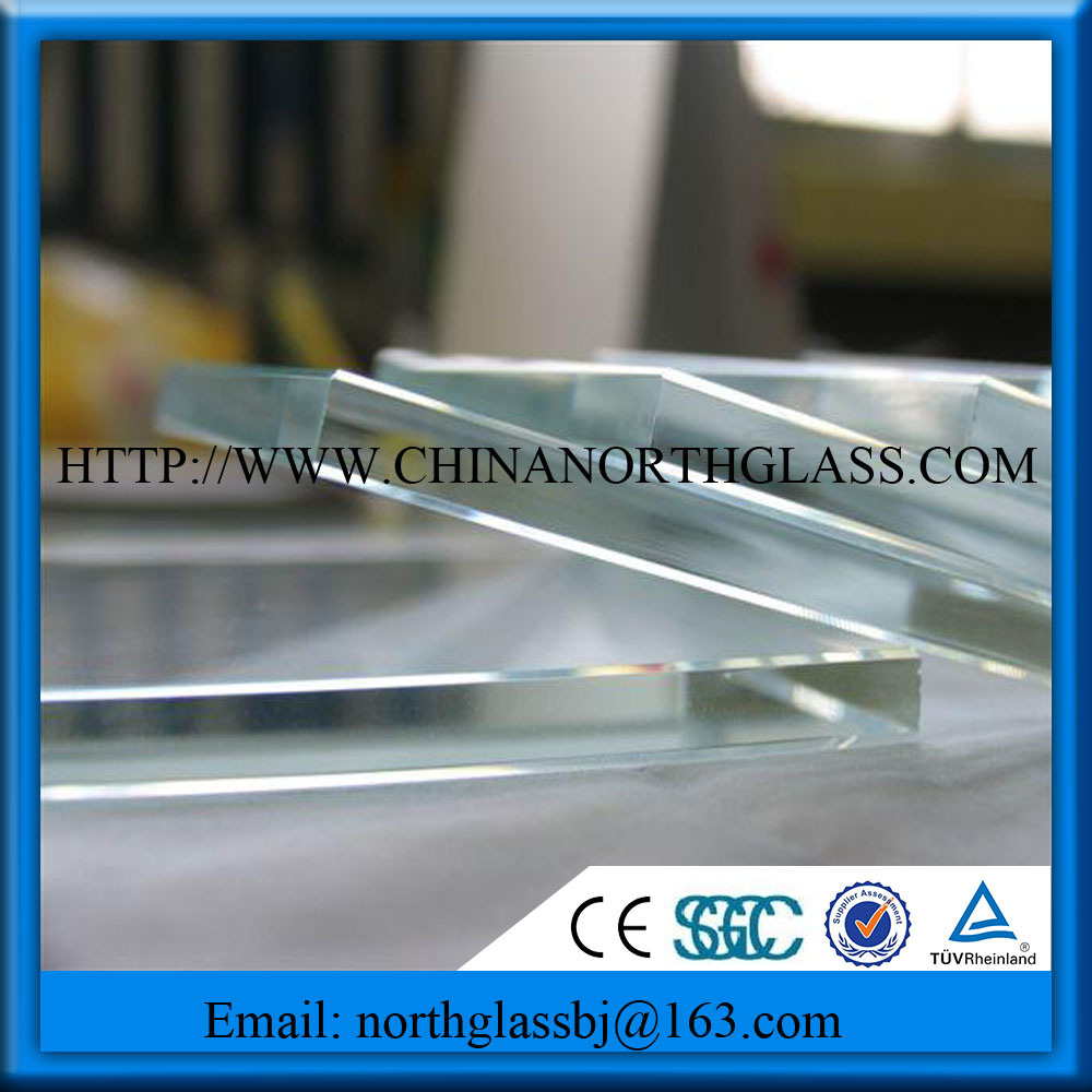 Various Thickness 3- 19mm Starphire Low Iron Glass