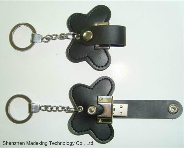 Fashion Design Leather USB Flash Drive USB Driver