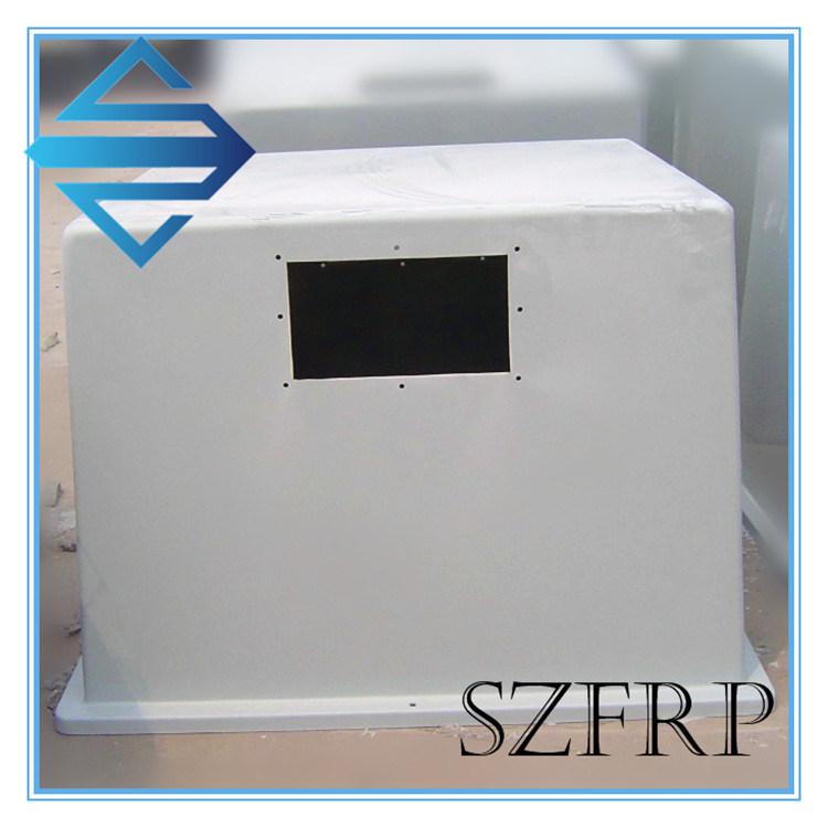 Hand Layup Custom Fiberglass Cover for Machine