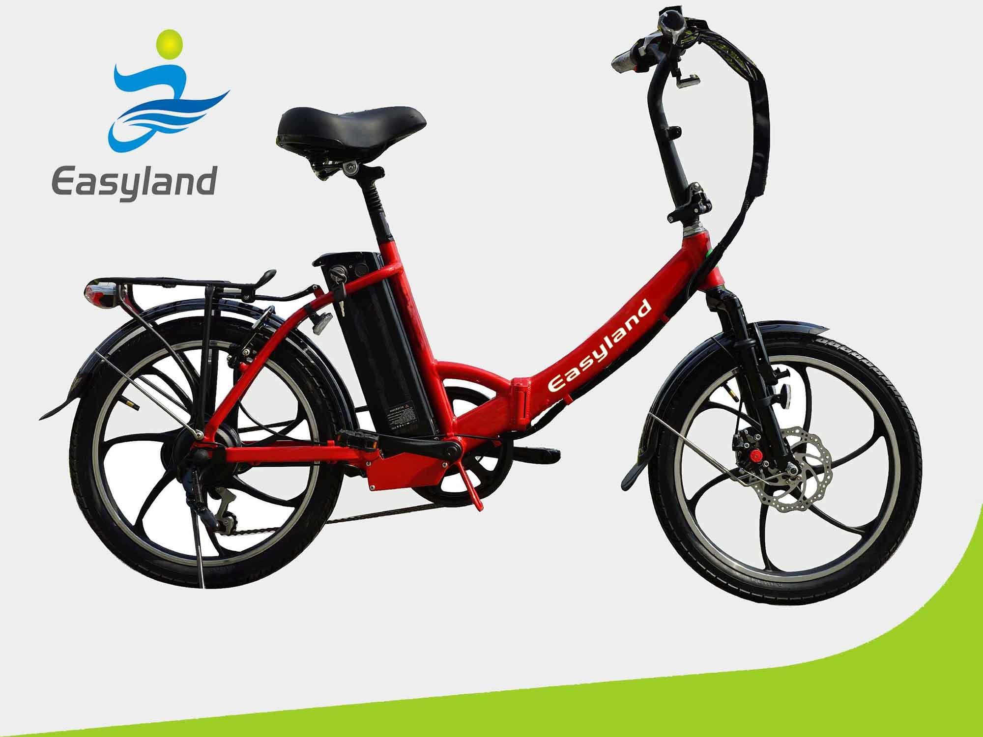 2017 Newest Foldable Electric Bike