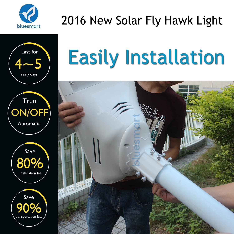 Bluesmart High Transformation Rate Solar Energy Solar Street Lights
