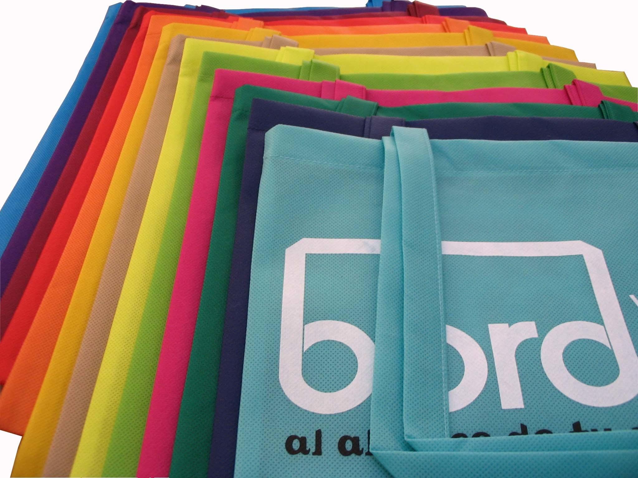 Eco Green Bag, with Silk Screen Printing