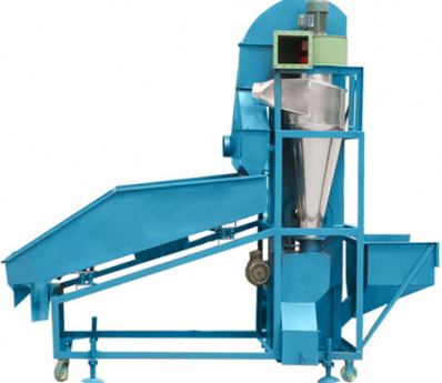 Small Cleaner with Dust Catcher for Grain Handling