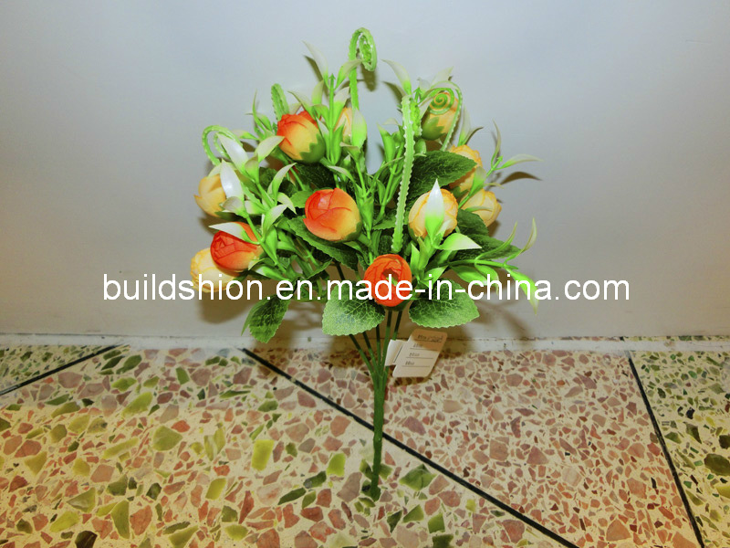 Artificial Indoors Decorative Flower Mini Rose BH51020