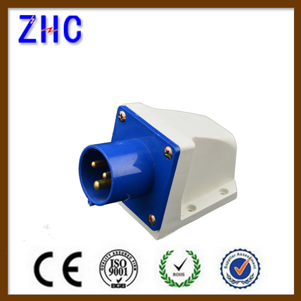 IEC60309-2 16A 220V 2p+E IP44 Cee Plug