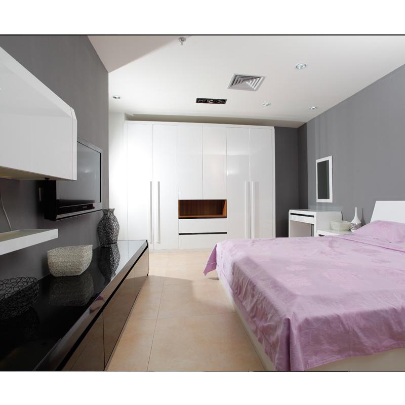2016 Welbom Modern White Painted Bedroom Furniture