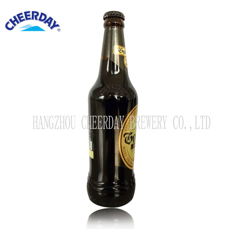 Abv4.3% 11plato 418ml Brown Bottle Gabriel Black Beer