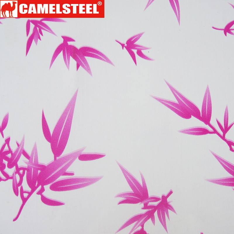Decoration Pattern Design PPGI Steel Sheet