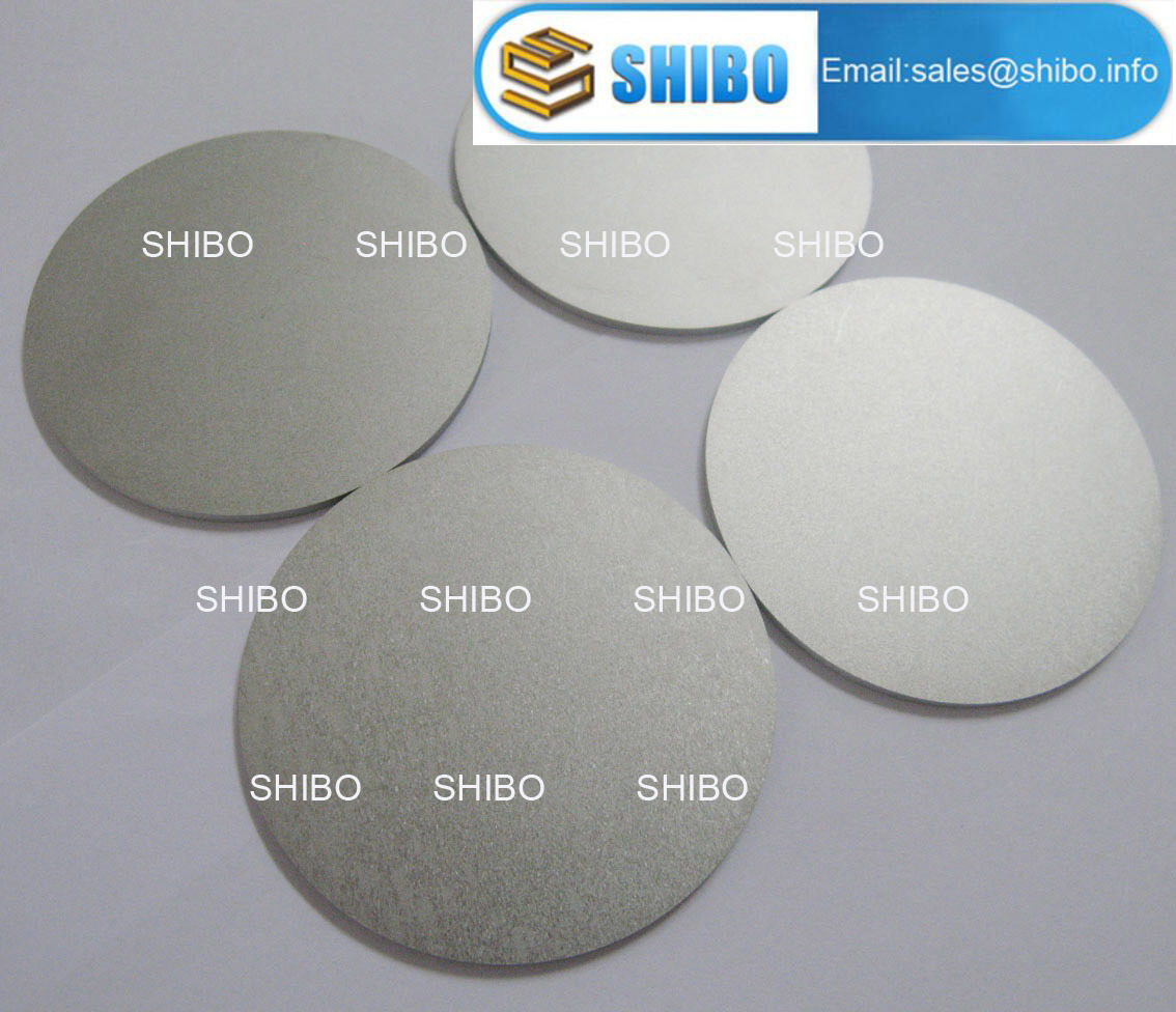 1.6mm Thickness Polished Molybdenum Round Discs