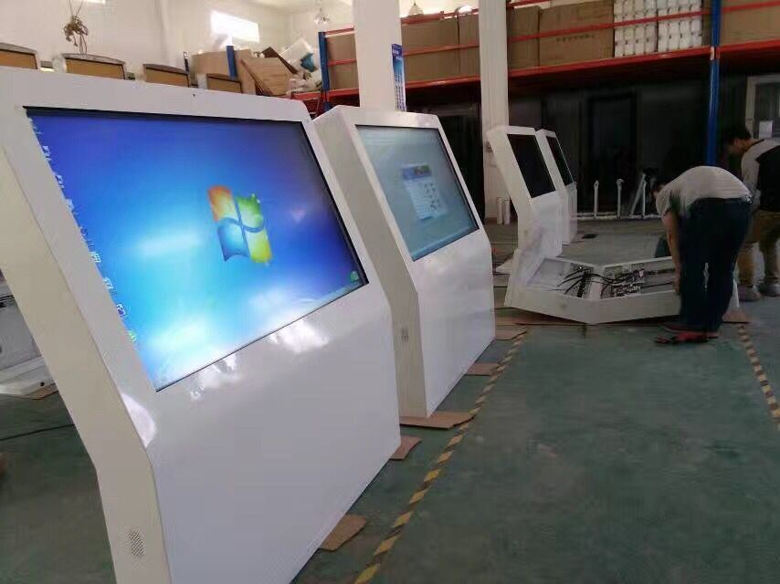 55 Inch Floor Standing Outdoor LCD Video Player/Advertisng Display/Digital Signage