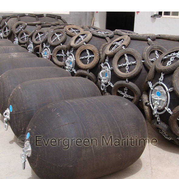 Passed CCS Dnv Lr Certificate Floating Ship Pneumatic Rubber Fender