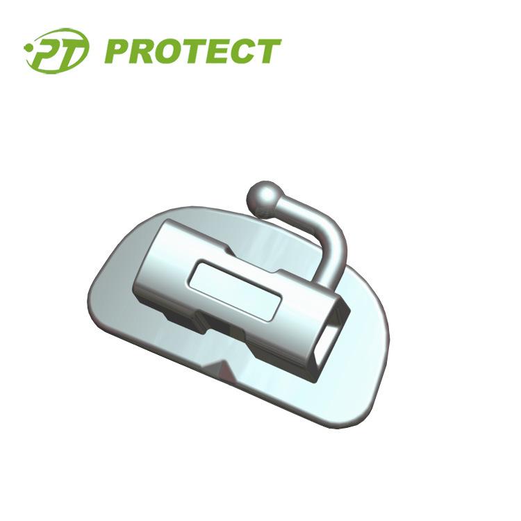 Dental Orthodontic Bondable Buccal Molar Tube with CE ISO FDA