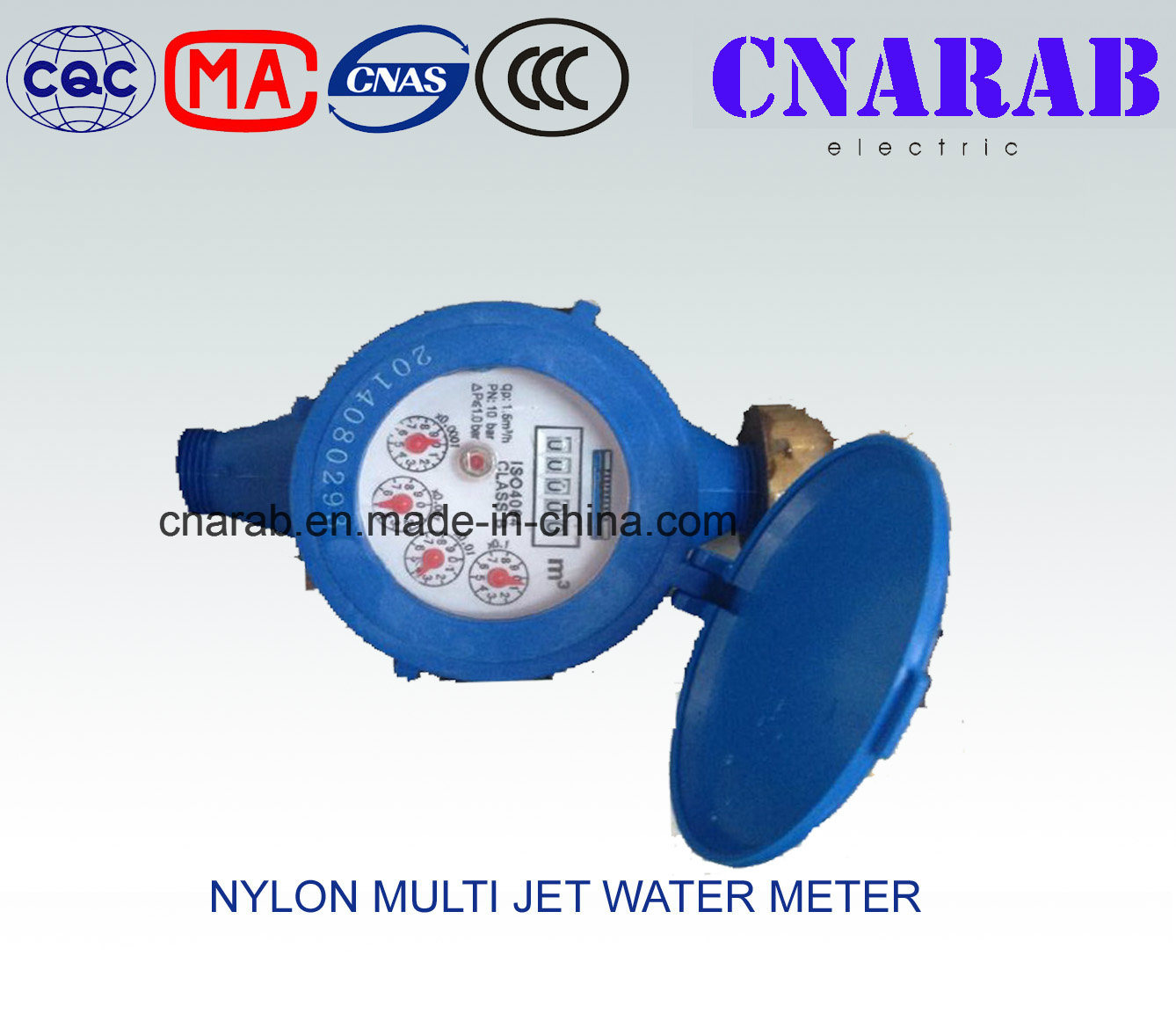 Nylon Multi Jet Water Meter Lxsg-15