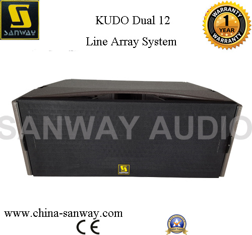 "Kudo Dual 12"" Professional Line Array Loudspeaker"