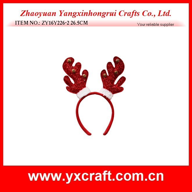Christmas Decoration (ZY16Y226-2 26.5CM) Christmas Gift Christmas Headband
