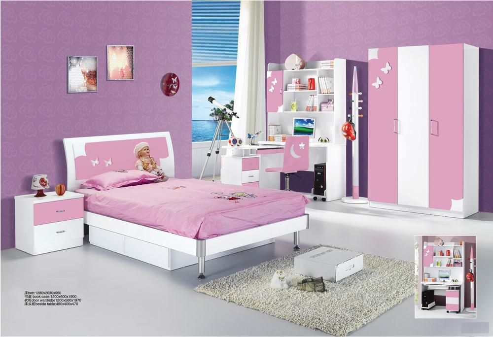 chambre a coucher enfant fille design de maison. Black Bedroom Furniture Sets. Home Design Ideas