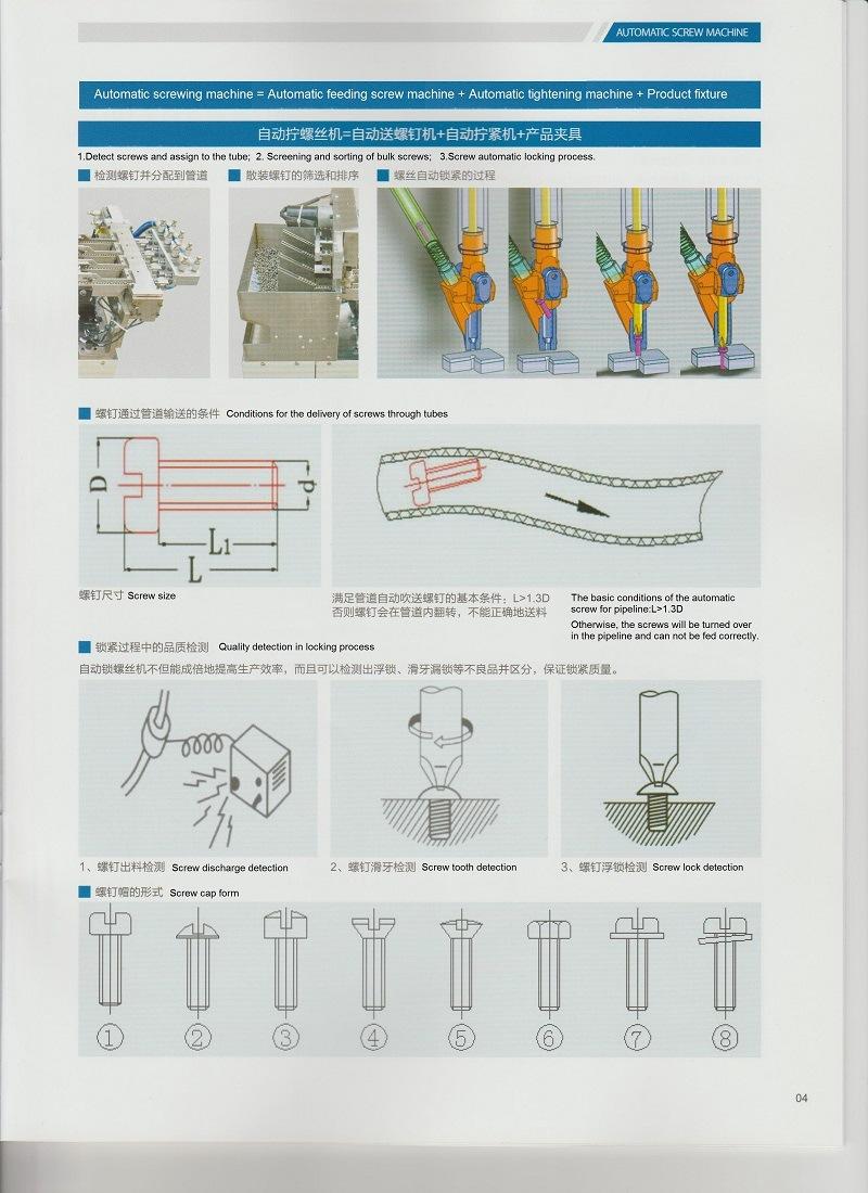 Manufacturing Customized Automatic Screw Machine