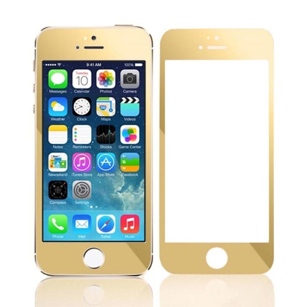 Factory Price 3D Plating Screen Protector Tempered Glass for iPhone 5s/5c