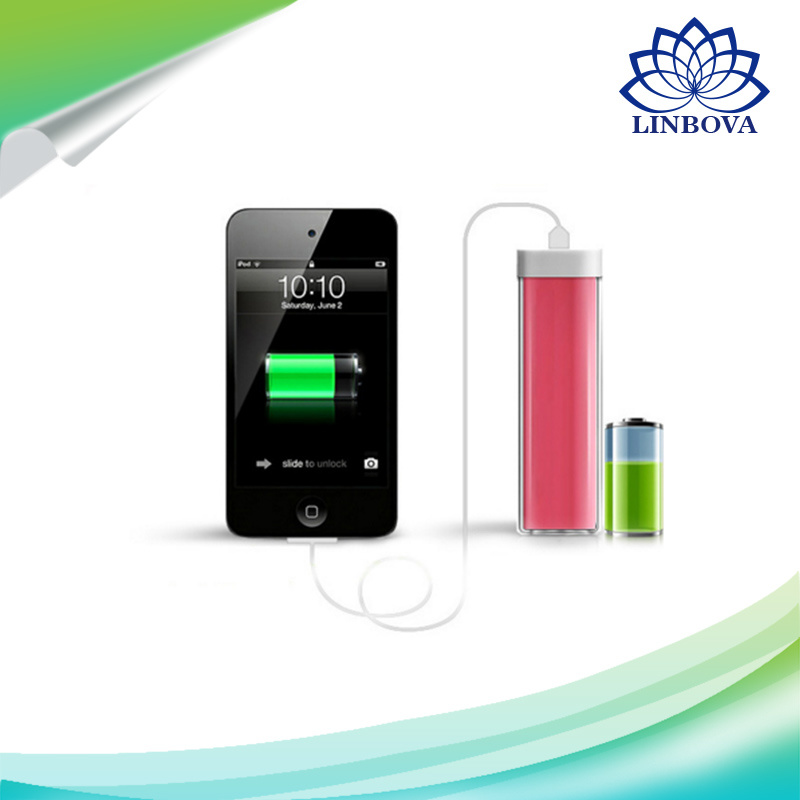2600mAh USB Colorful Power Bank Eternal Battery for iPhone Laptop