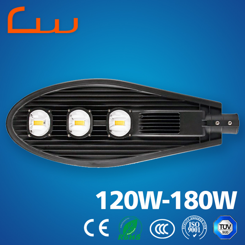 Outdoor 10W-180W Aluminum LED Street Light Housing