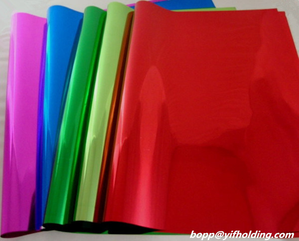 Colored Metallized Polyester Film 12 Mic