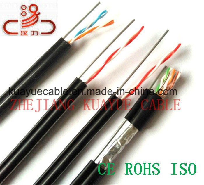 Communication Cable Telephone Cable Drop Cable 4X2X0.5cu